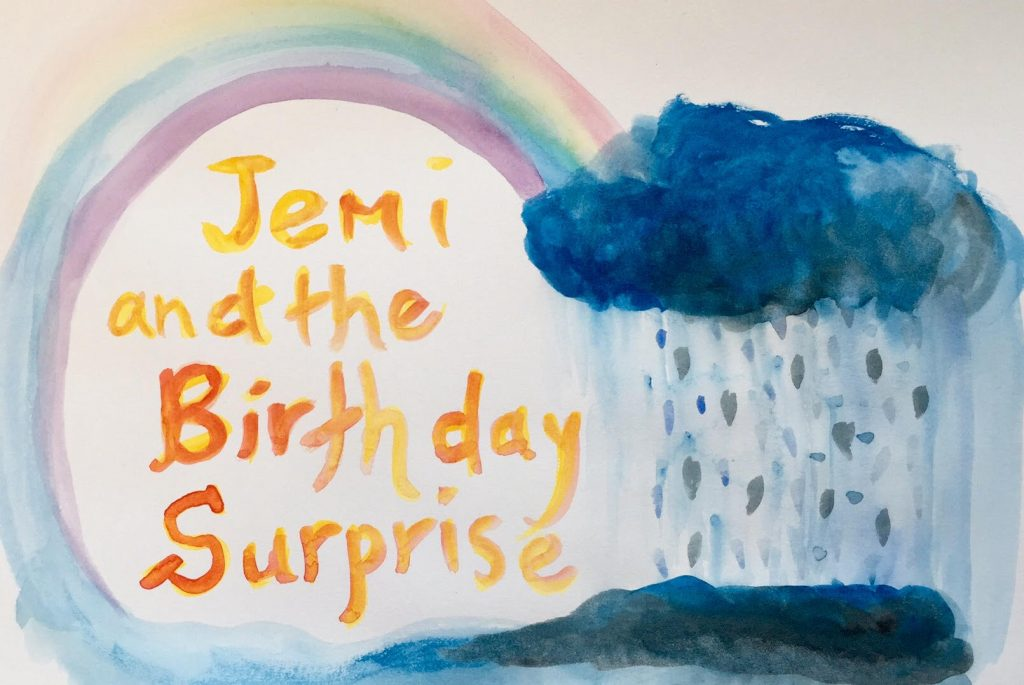 Jemi and the Birthday Surprise on aprileight.com April Eight Songs & Stories